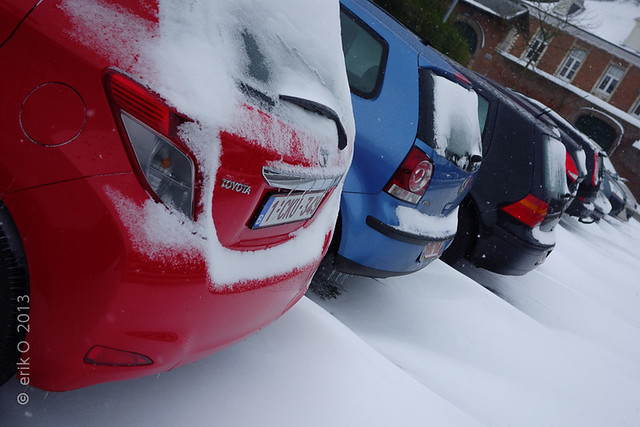 Snow & Ice Cars @ Leuven