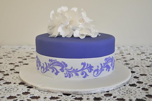 Cake Decorating Class Cake