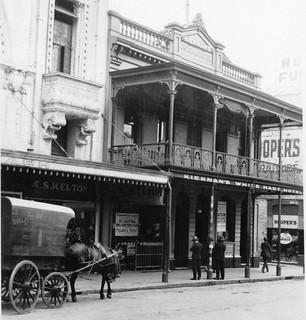 White Hart Hotel, Hindley Street, 1927