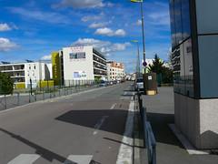 Amiens manifestation en vue pour soutenir le bureau de poste du