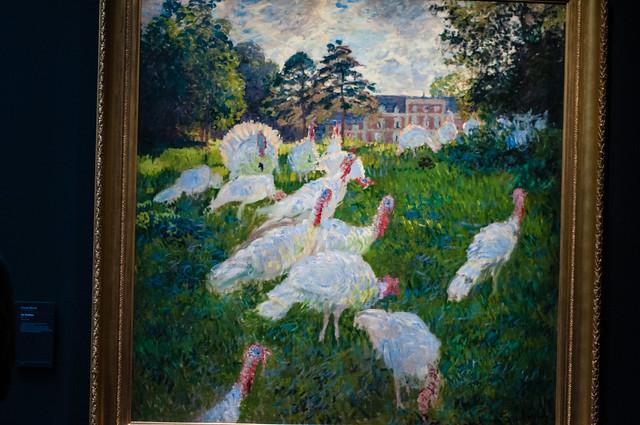 Les Dindons - Monet