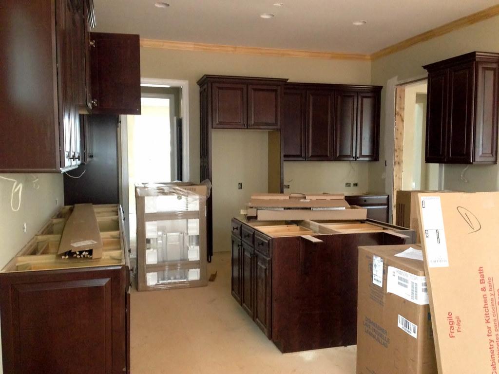 Kitchen Cabinets In Appliances Delivered Benjamin Reed