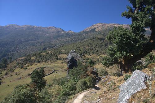 nepal mountains trekking asia asien outdoor hiking berge himalaya wandern himalayas kharka