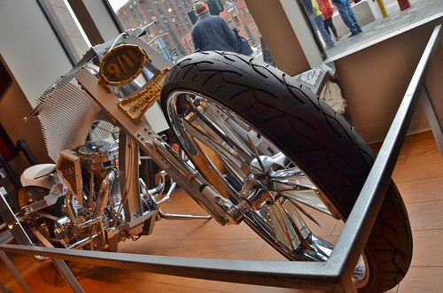 the 911 memorial chopper, built by paul sr. and paul jr. of orange county choppers (uncropped) ------ viewed 248x