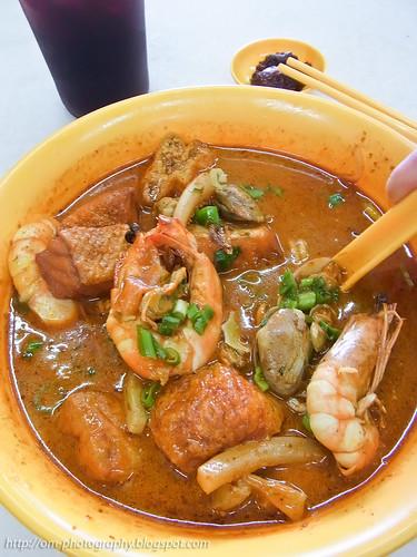 seafood curry noodle, restoran yu ai, segambut R0022129 copy