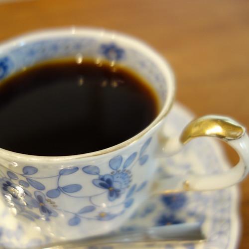 ブーケのコーヒー。