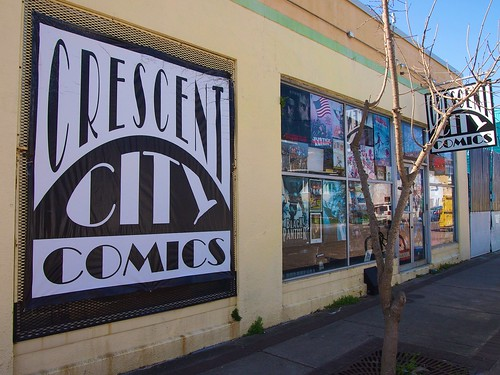 Crescent City Comics on Freret Street. Photo by Melanie Merz.