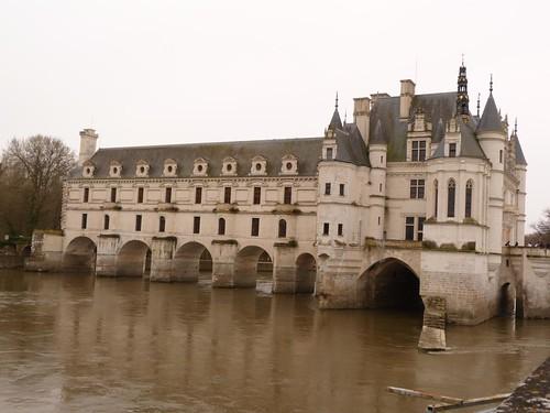 Imagen del Castillo de Chenonceau (Valle del Loira, Francia)