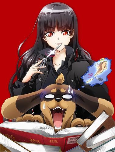 130321(2) - 輕小說《犬とハサミは使いよう》(狗與剪刀必有用)將由「高橋幸雄×GONZO」製作電視動畫版,製作群&第一支預告片公開!