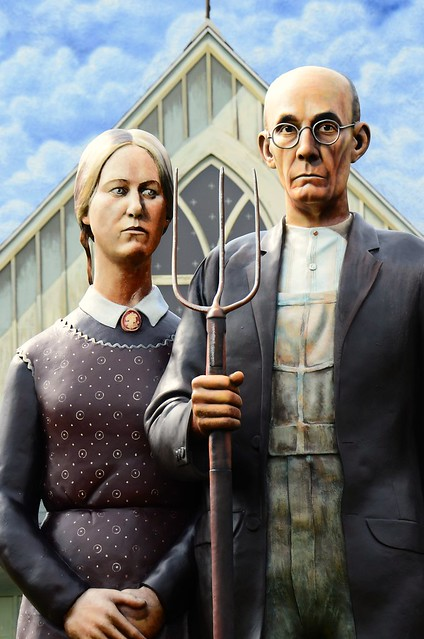 Header of American Gothic