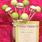 Custom Colorful Bridal Shower Cake Pops to Match Invitation6