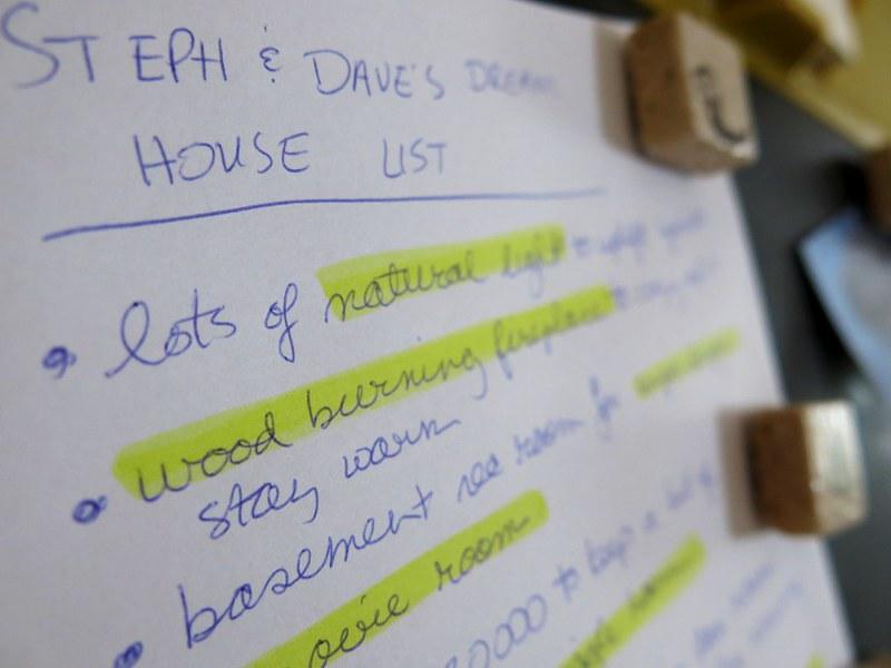 Our Dream House List
