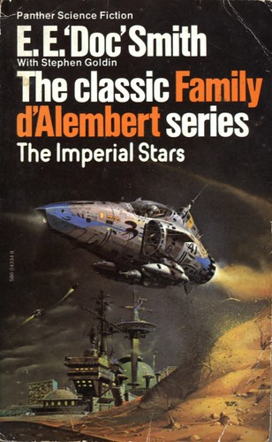 The Imperial Stars by E.E. Doc Smith. Panther 1976. Cover artist Peter Andrew Jones