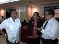 P3I dan Pak Agus Rahardjo Diskusi ttg pengadaan di KPU