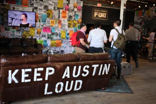 Keep Austin Loud, Fader Fort, 2013