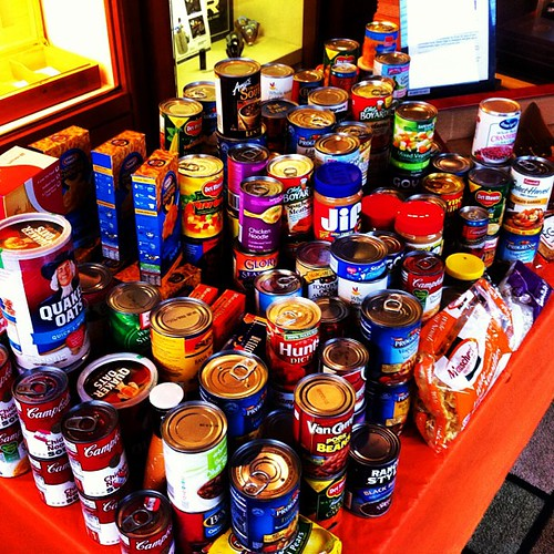 262 pounds collected for @smokeouthunger over the weekend!