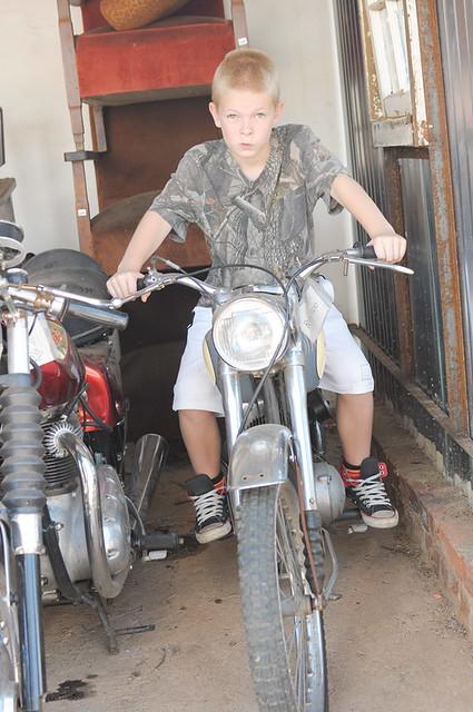serious biker