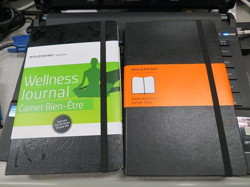 Singapore Lifestyle Blog, Birthday presents, Moleskin notebooks, Moleskin Wellness Journal, Jipaban, Jipaban books