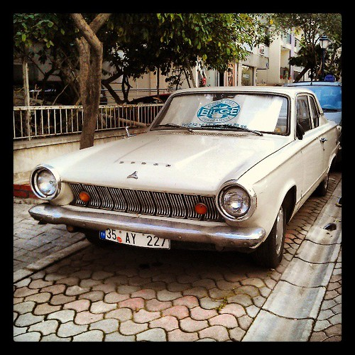 #dodge #alsancak #oldtimer #car #izmir #white
