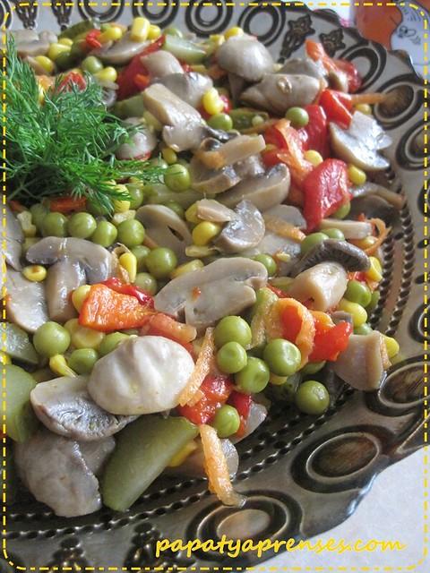 mantar salatası (1)