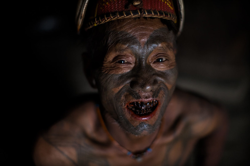 the last headhunters, Konyak Tribe Warrior, nagaland