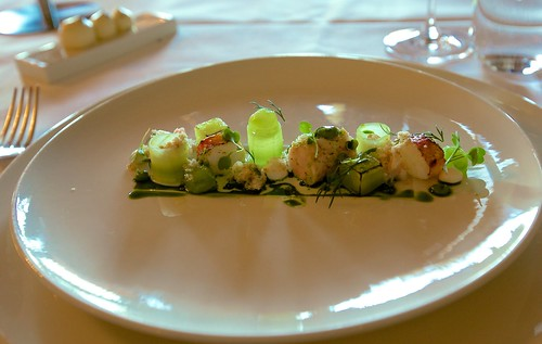 Shrimp & cucumber