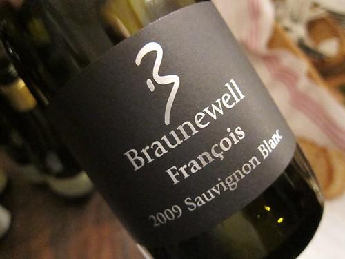2009 Sauvignon Blanc Braunewell