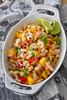Kreveti-mangosalat. Shrimp and mango salad.