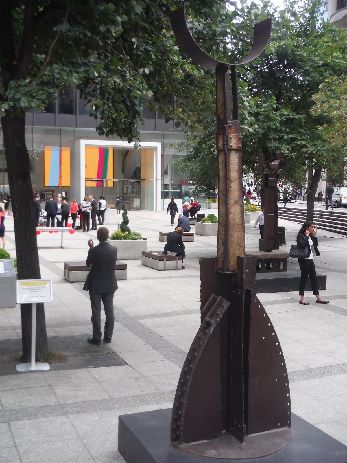 Michael Lyons - Centaurus/Camelopardalis SWC Walk Short 24 - Sculpture in the City