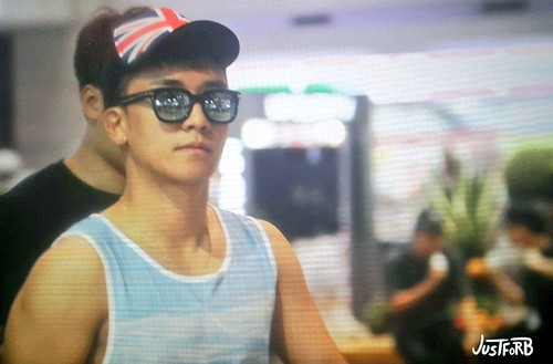 Seung Ri - Incheon Airport - 02aug2015 - Just_for_BB - 02