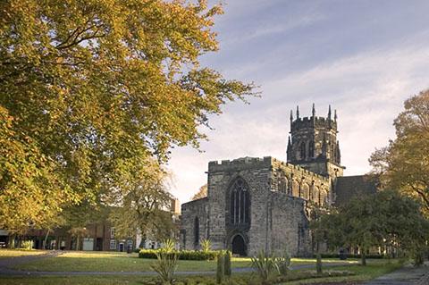Staffordshire, STAFFORD, Collegiate Church of St Mary