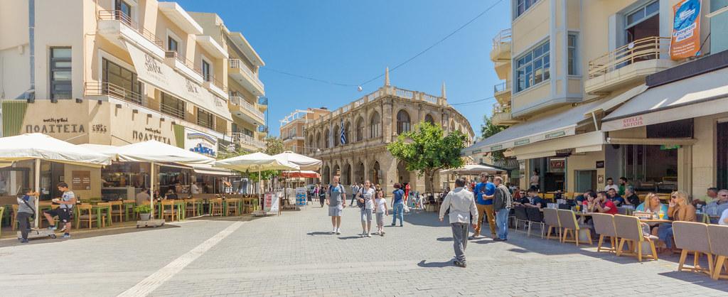 Heraklion Hotels Near Bus Station