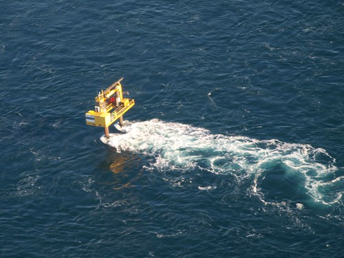Openhydro's tidal test site