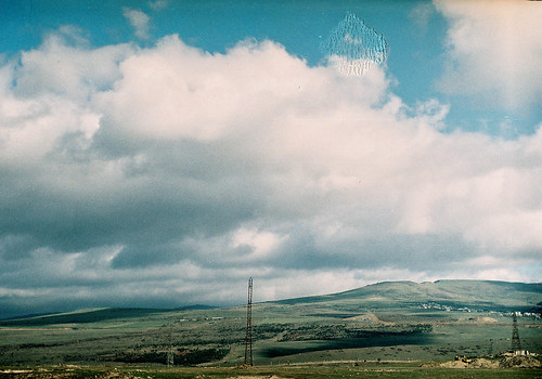 sky film clouds georgia view hills fujifilm tbilisi filmphotography zenitet