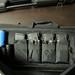 Small photo of Laser range finder, binocular, gloves, mags