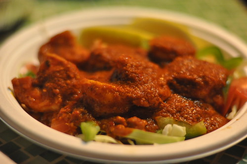 Goan Shrimp from G'Raj Mahal