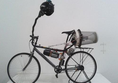 Стимпанк по-китайски – пекинские велосипедисты очищают воздух от смога
