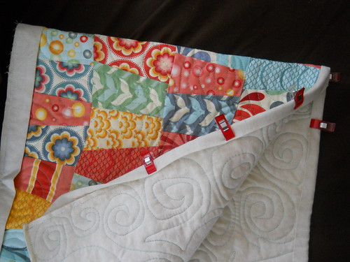 binding a table runner