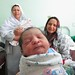 Newborn girl in Afghanistan