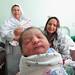 Newborn girl in Afghanistan