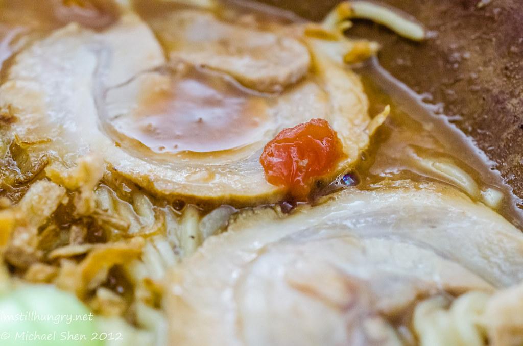 Gumshara tomato tonkotsu ramen