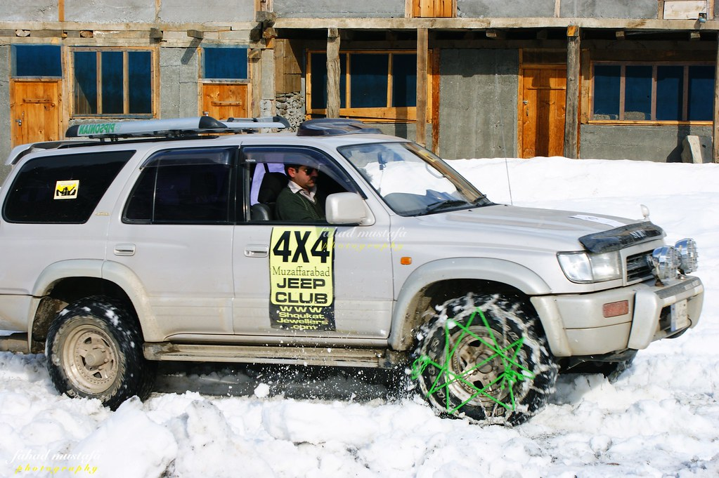 Muzaffarabad Jeep Club Neelum Snow Cross - 8470961501 731b407791 b