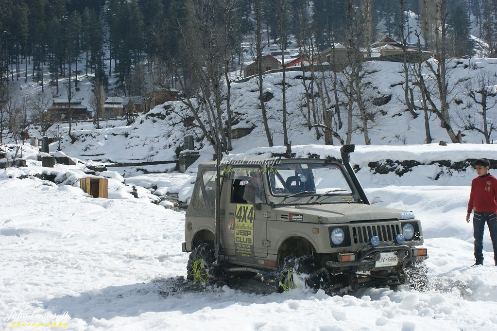 Muzaffarabad Jeep Club Neelum Snow Cross - 8472106704 232354b577 b