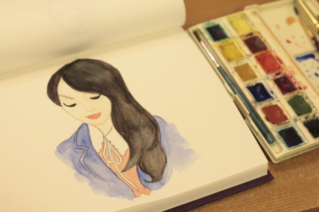 watercolour sketch 1