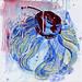 王亮尹‧櫻桃奶油‧壓克力、畫布‧30x30cm‧2012