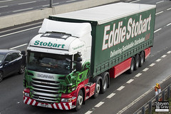 Scania R440 6x2 Tractor - PE11 RFZ - Margaret Janet - Eddie Stobart - M1 J10 Luton - Steven Gray - IMG_1223