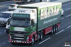 Volvo FH 6x2 Tractor - PX11 BZH - Lily Kathleen - Eddie Stobart - M1 J10 Luton - Steven Gray - IMG_0509