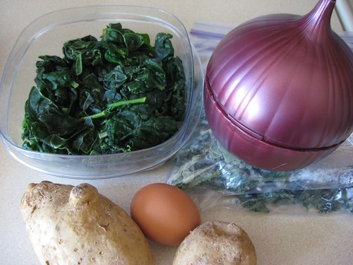 Super Spinach Salad ingredients