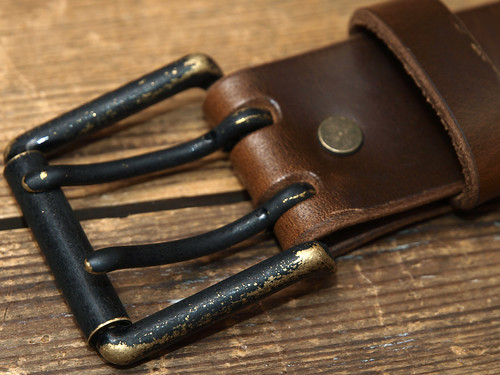 Esperanto for Hunky Dory / Horween Oil Leather Belt