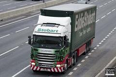 Scania R440 6x2 Tractor - PJ11 ZNU - Marilyn Ann - Eddie Stobart - M1 J10 Luton - Steven Gray - IMG_2444